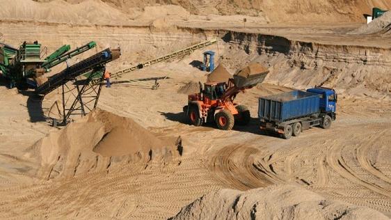 Węże dla żwirowni i kopalni piasku
